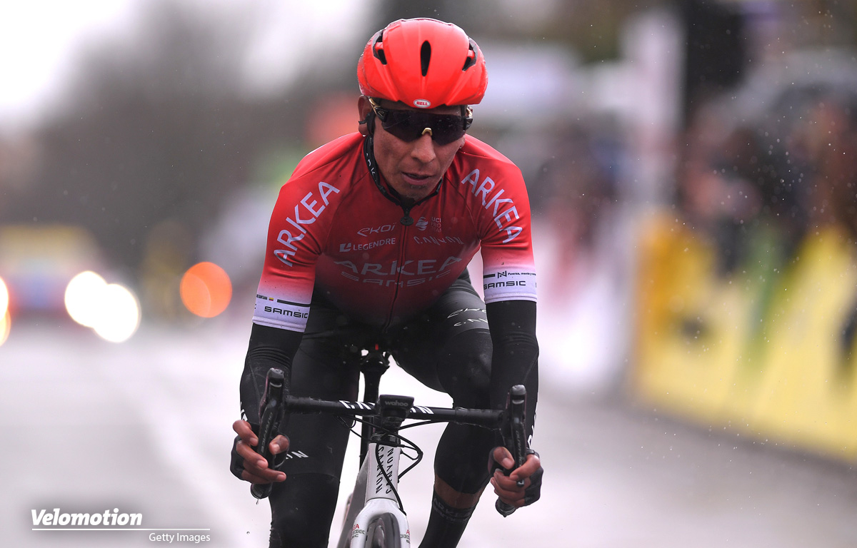 Nairo Quintana Trainingsunfall