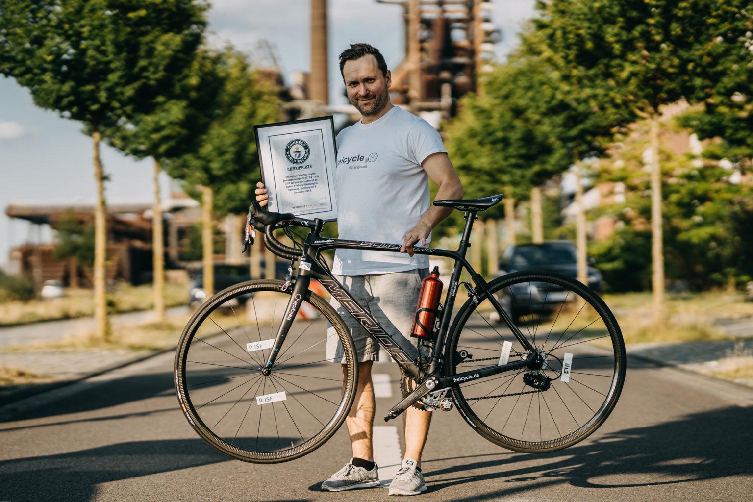 leichteste E-Bike der Welt