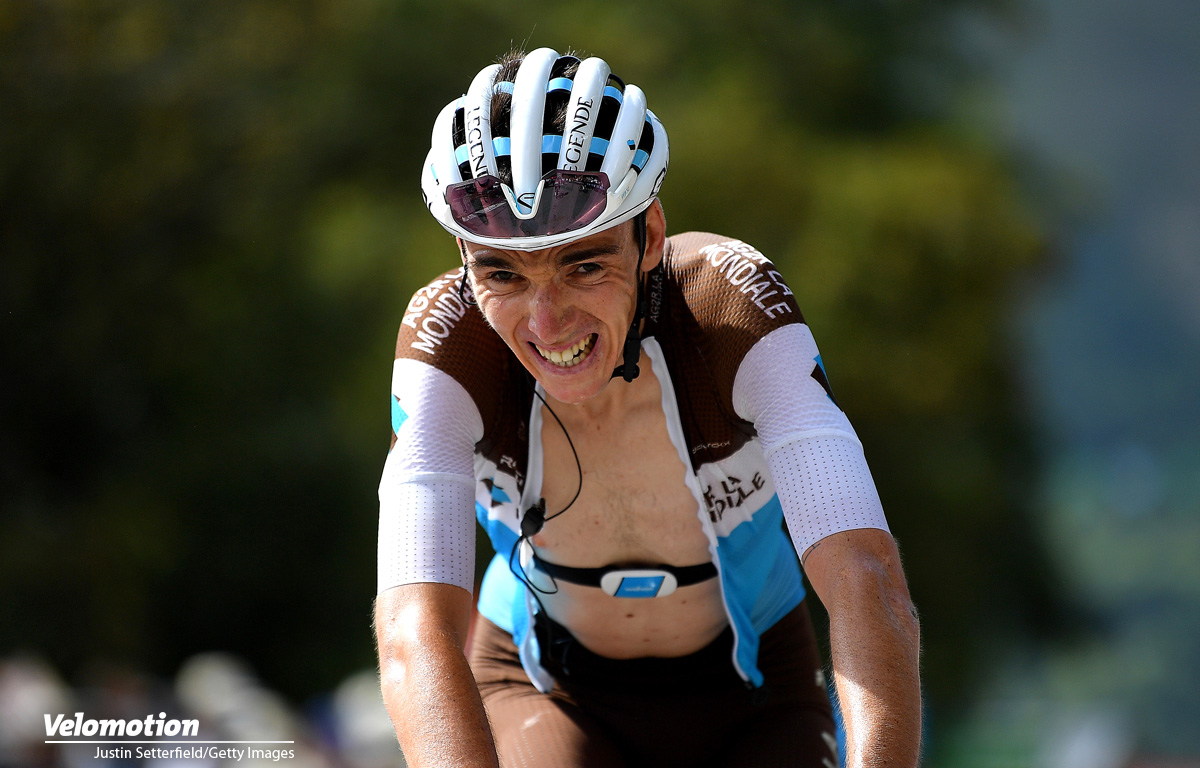Bergtrikot Tour de France 2020 Romain Bardet
