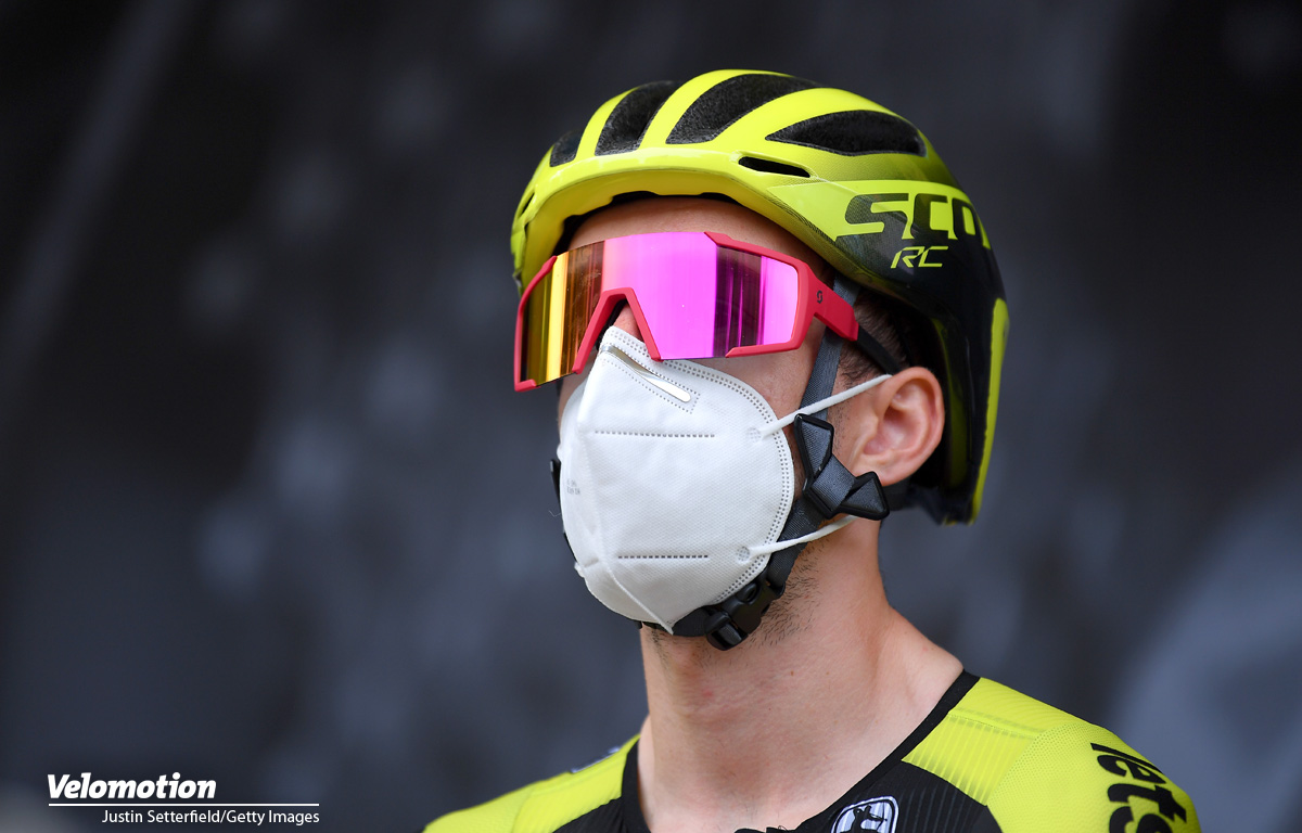 Bergtrikot Tour de France 2020 Adam Yates