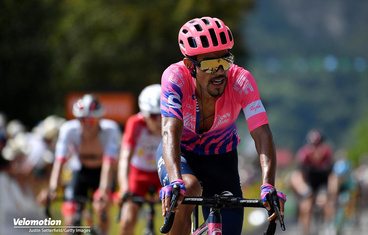 Weißes Trikot Tour de France Daniel Martinez