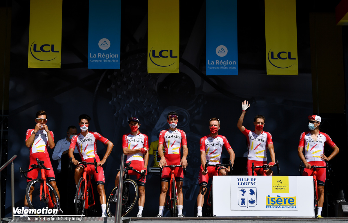 Tour de France 2020 Teams Cofidis