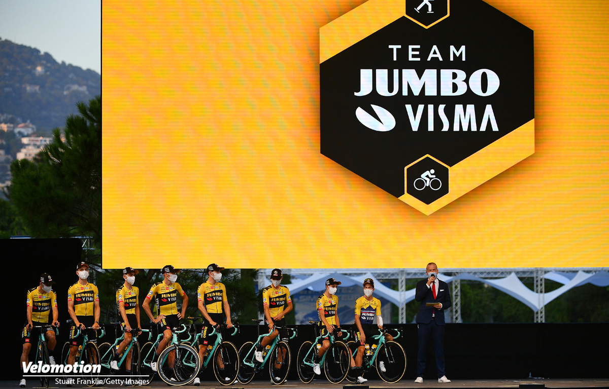 Tour de France 2020 Teams Jumbo - Visma