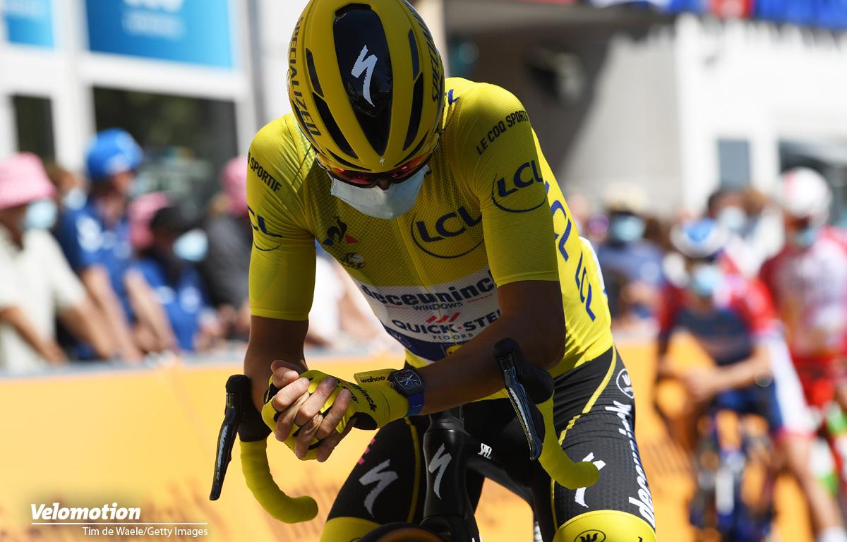 Yates Alaphilippe Tour de France Gelb