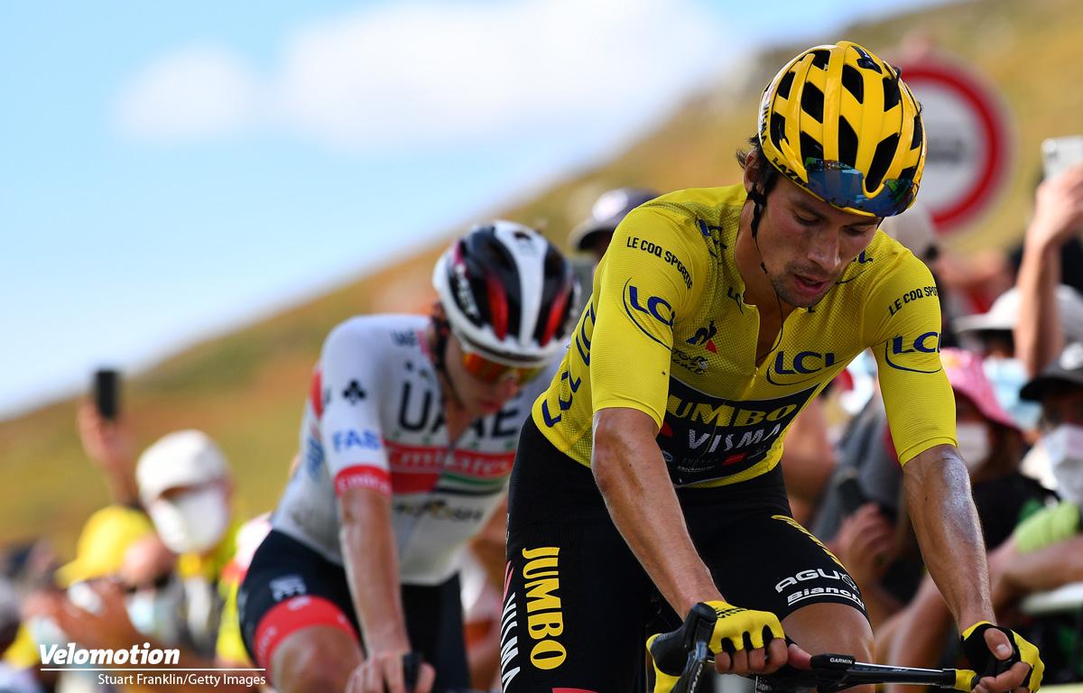 Tour de France Roglic Grand Colombier