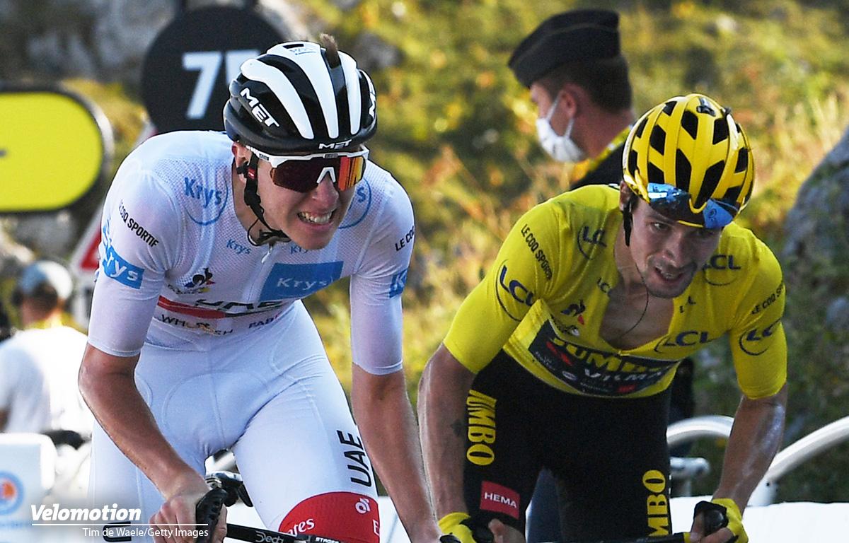 Tour de France Roglic Pogacar