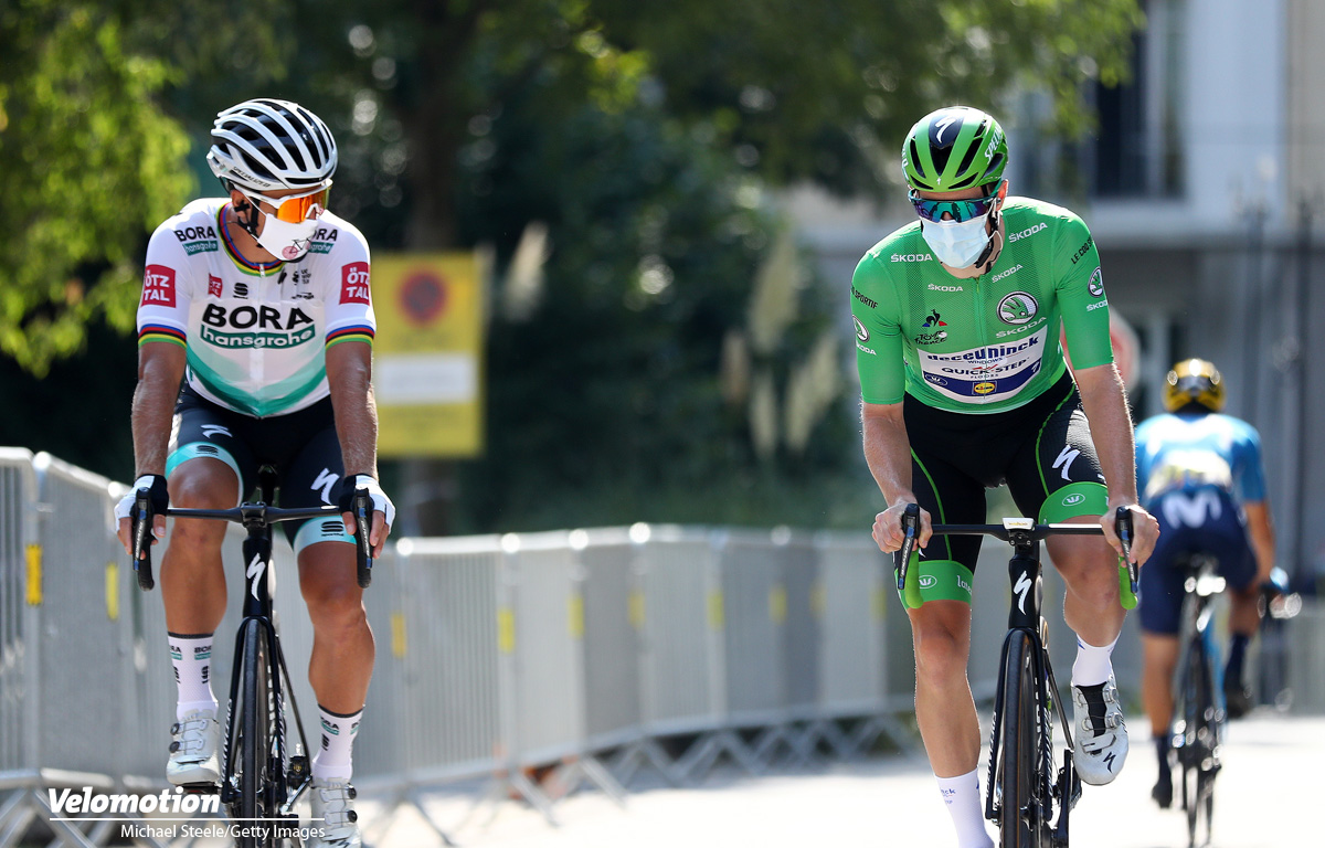 Peter Sagan Sam Bennett Tour de France Grünes Trikot