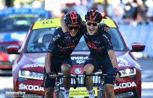 Kwiatkowski Ineos Tour de France Carapaz