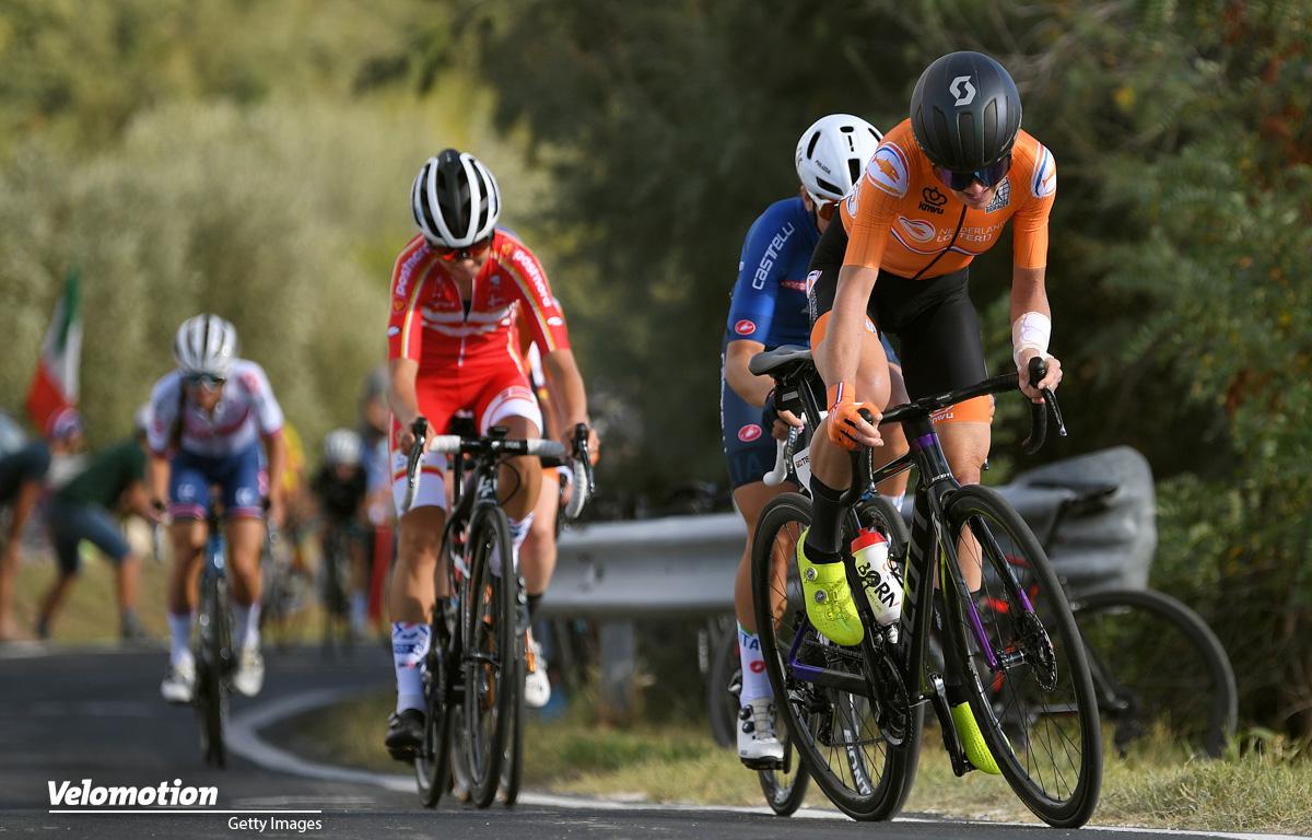 Anna van der Breggen Straßen-WM Imola