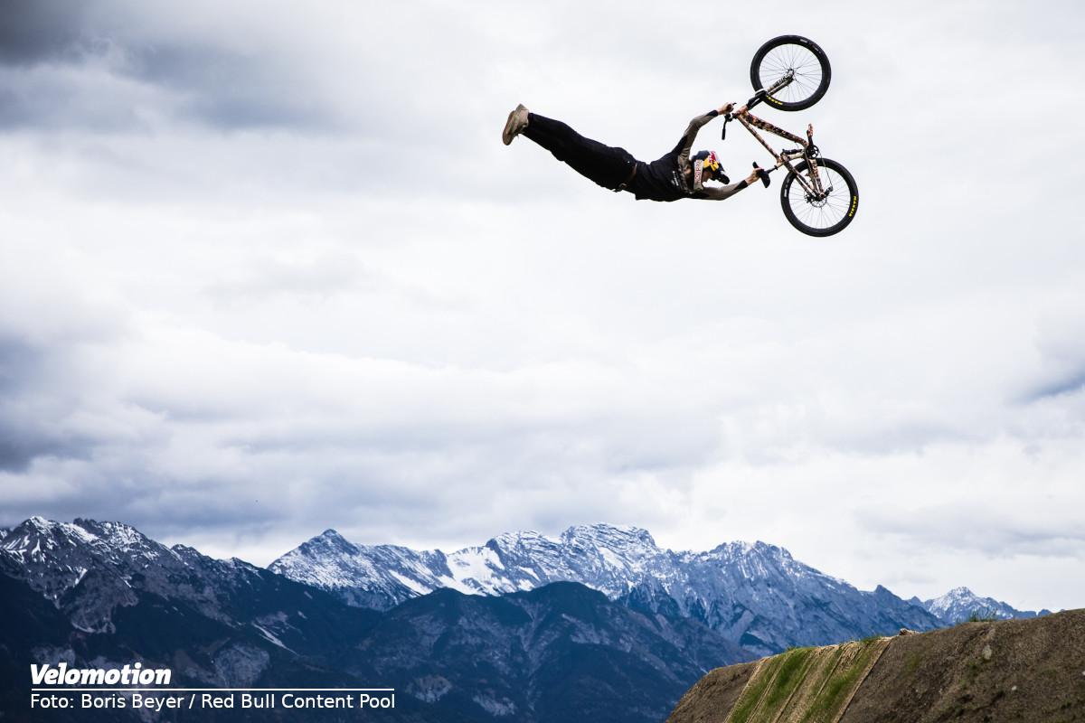 Emil Johansson Conquering Crankworx Innsbruck