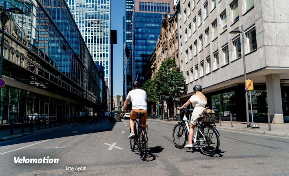 Pegasus Premio EVO 10 Lite als Damen und Herren E-Bike auch in der Stadt
