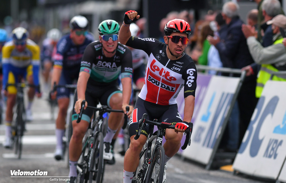 Giro d'Italia Sprinter Caleb Ewan Scheldeprijs