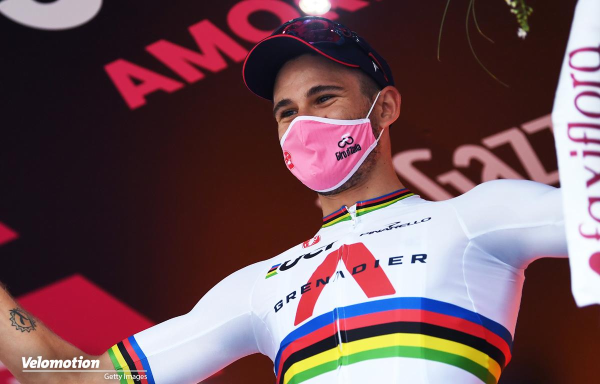 Filippo Ganna Giro d'Italia Zeitfahren