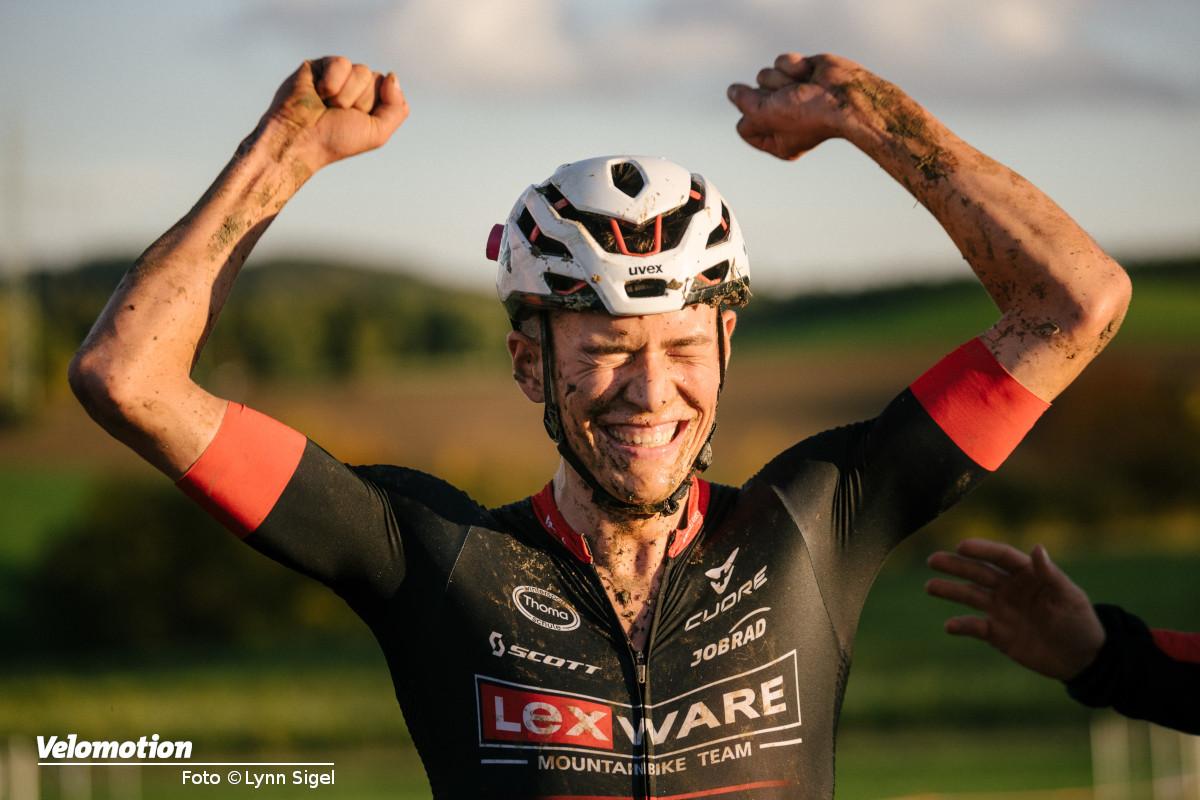 Max Brandl ist Deutscher Mountainbike-Meister im Cross-Country