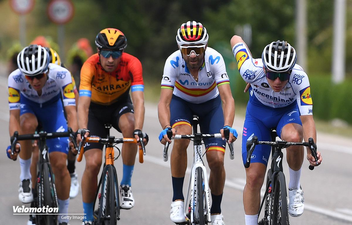 Radsport Saison 2020 Valverde evenepoel