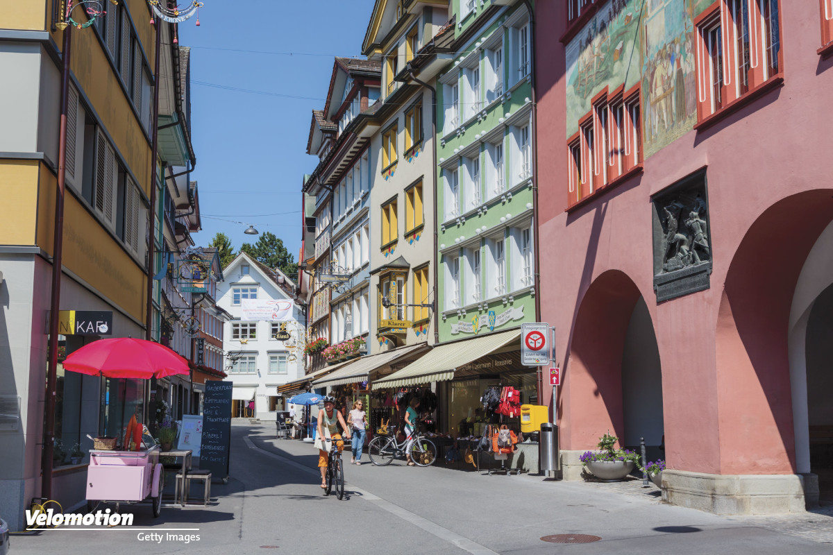 Schweiz Velo neue Verkehrsregeln