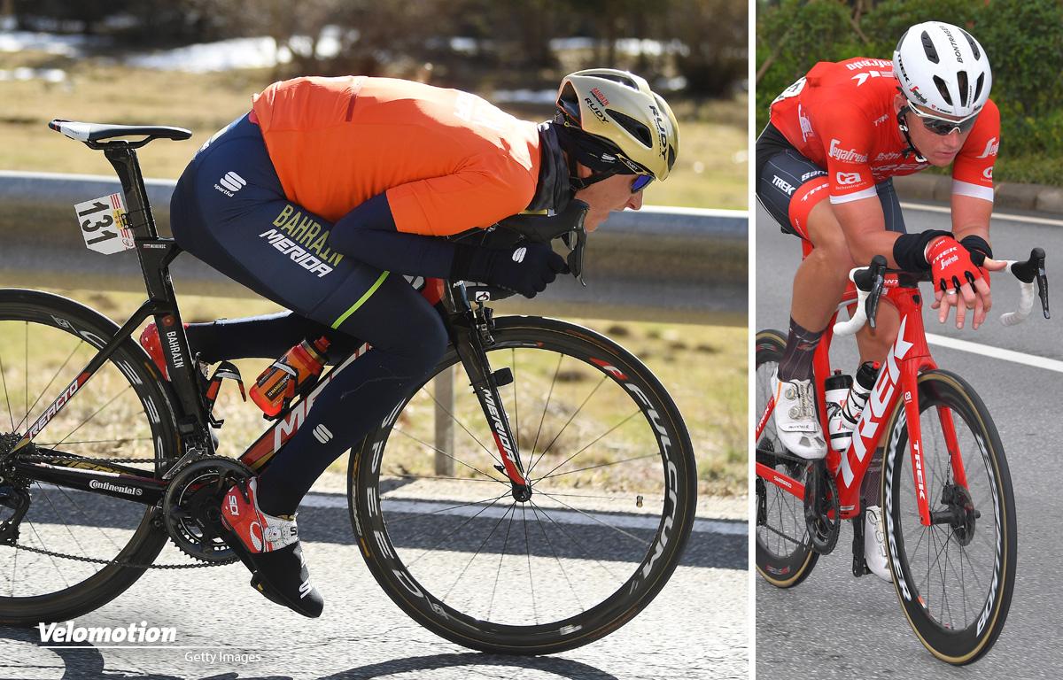 Supertuck Armauflegen UCI
