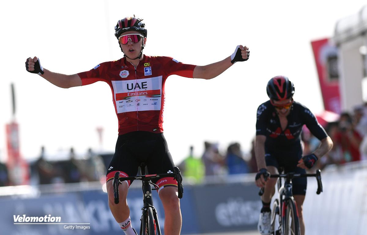 Pogacar UAE Tour