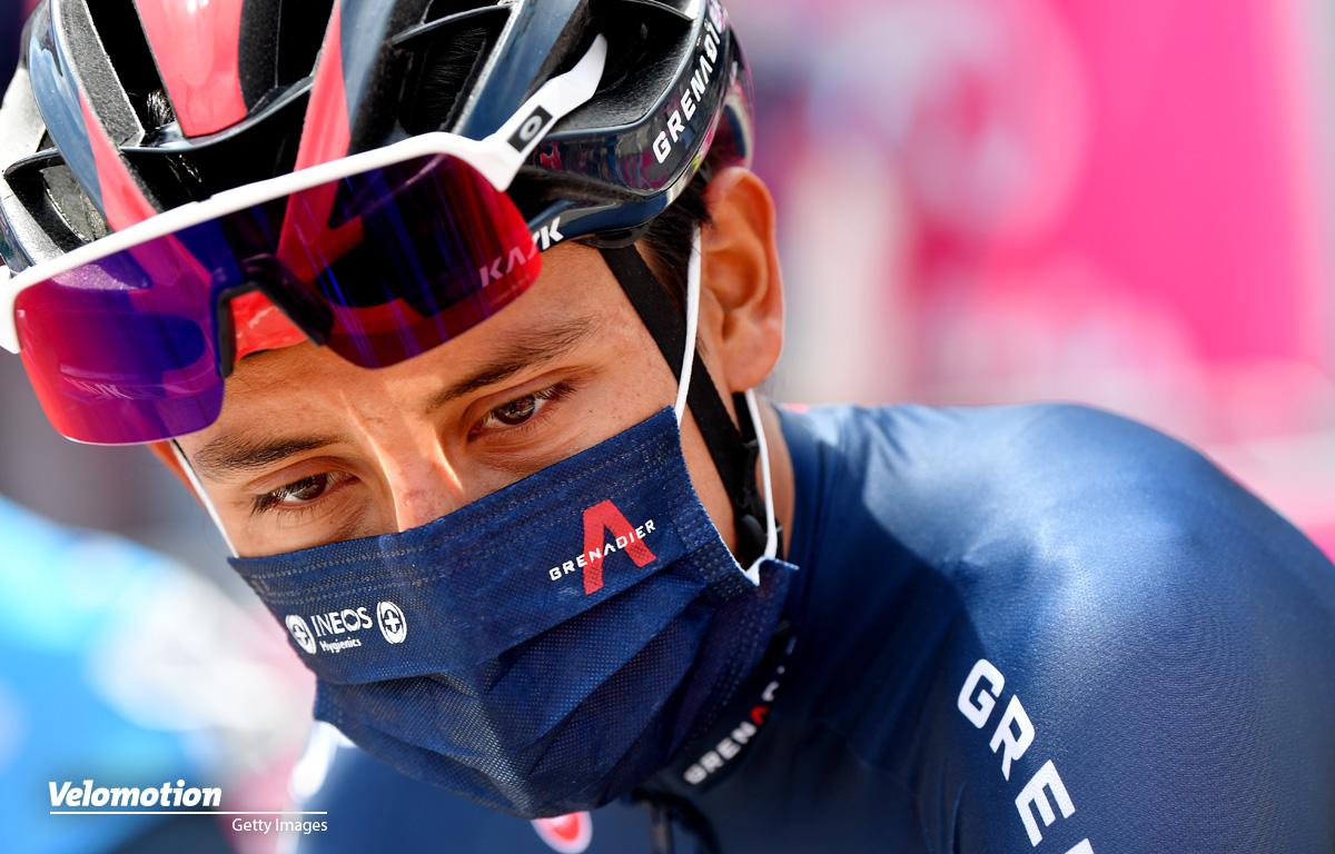Bernal Giro d'Italia 9. Etappe
