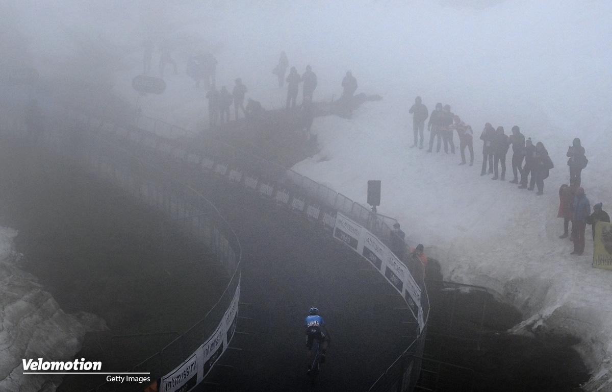 Fortunato Monte Zoncolan Giro d'Italia