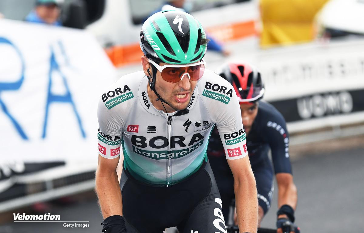 Buchmann Giro d'ITalia Sturz