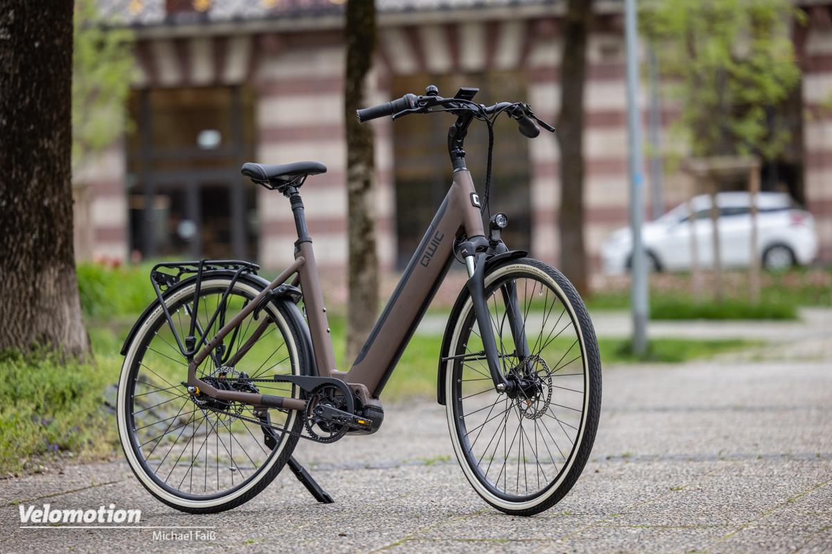 """<span class=""""vmsubtitle"""">Gebrauchtes E-Bike kaufen:</span> Eleganter Tiefeinsteiger mit Riemenantrieb"""