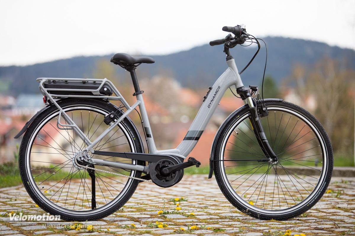"""<span class=""""vmsubtitle"""">Gebrauchtes E-Bike kaufen:</span> Dynamics E-Lite 8R im Test"""