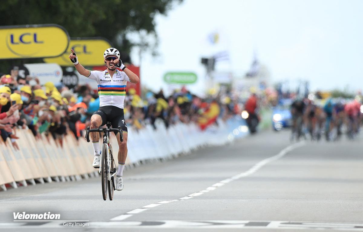Tour de France Bilder Alaphilippe