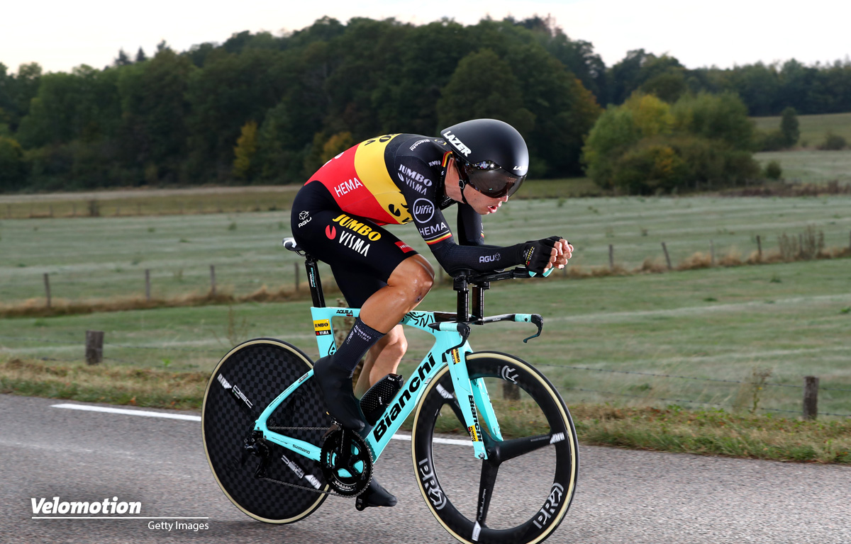 Van Aert Tour de France Zeitfahren