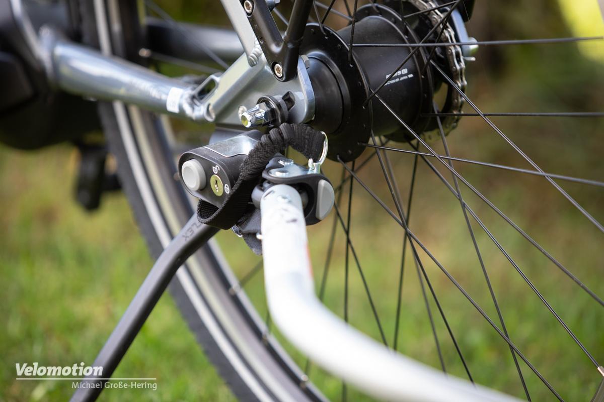 Fahrrad-Anbringung