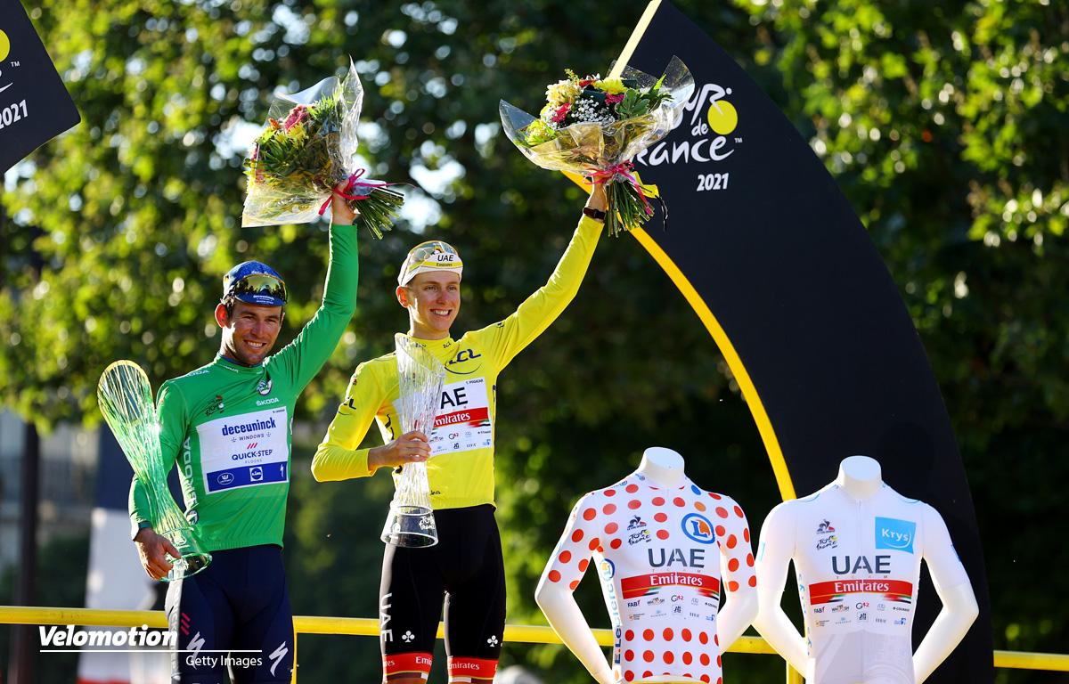 Tour de France Cavendish Pogacar