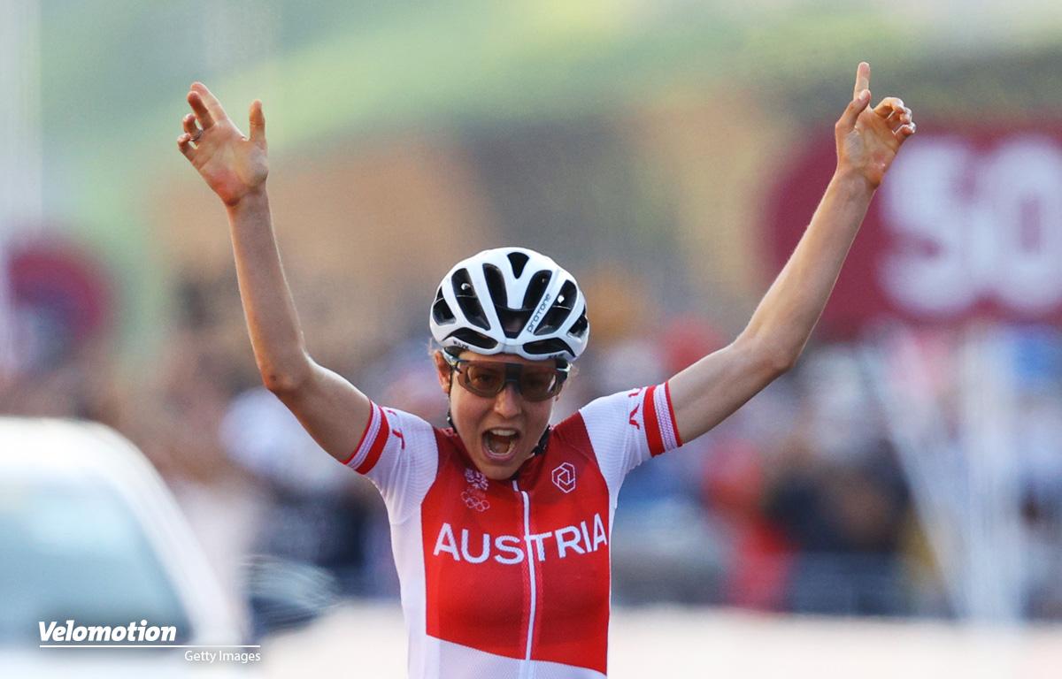 Olympische Spiele: Österreichs Kiesenhofer gelingt die Sensation