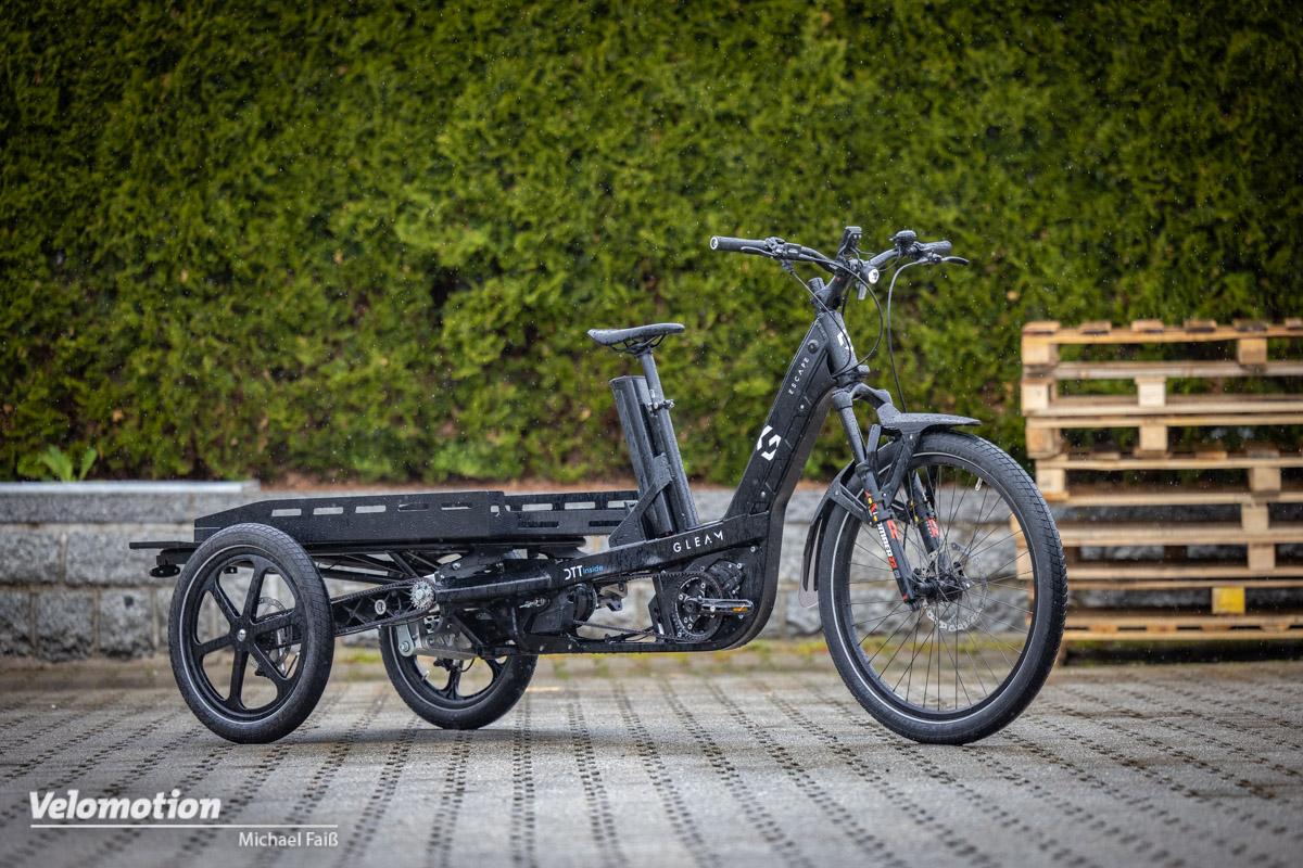 Gleam Escape im Test: Innovatives Cargobike aus Österreich