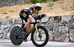 Roglic Vuelta Zeitfahren