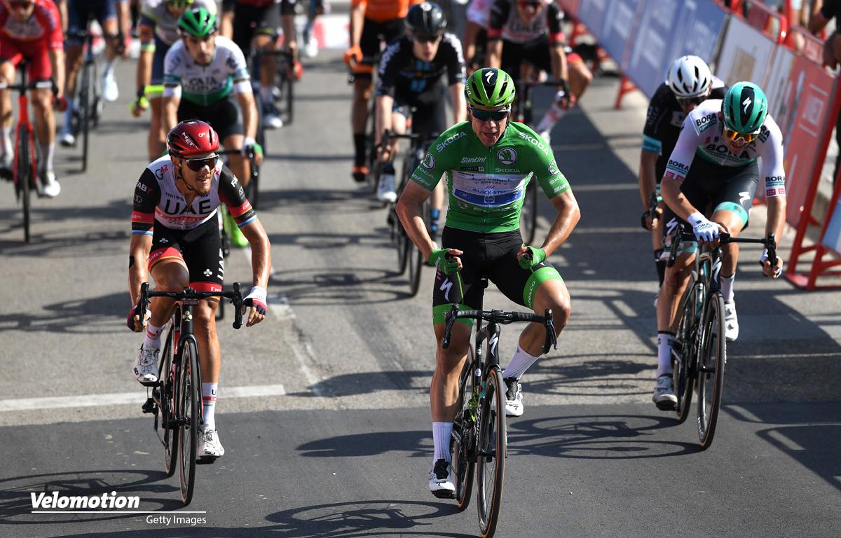 Jakobsen Vuelta a Espana