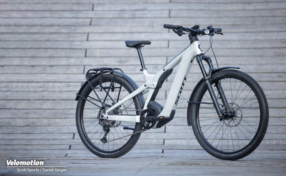 Scott Axis eRide EVO : Innovatives E-Bike mit unsichtbarem Dämpfer