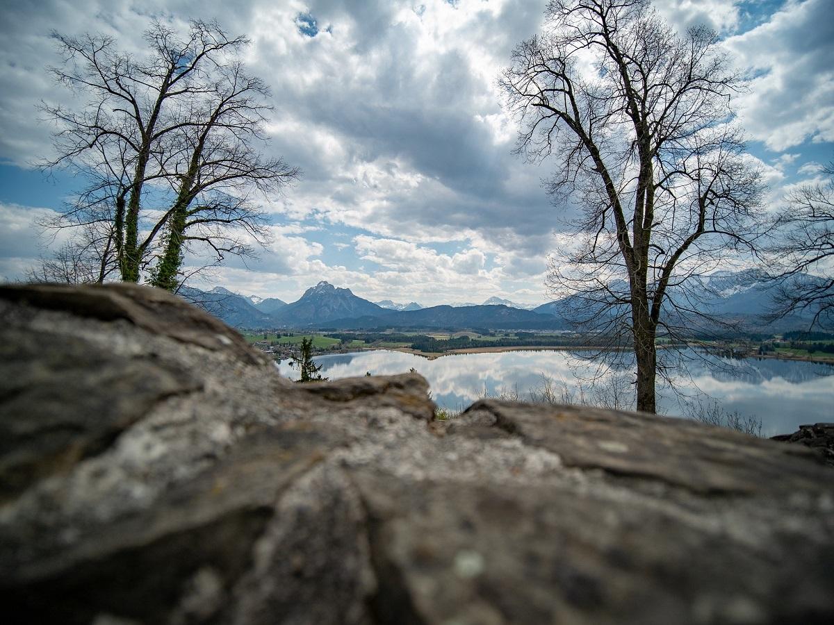 Füssen Burgruine Hopfen am See