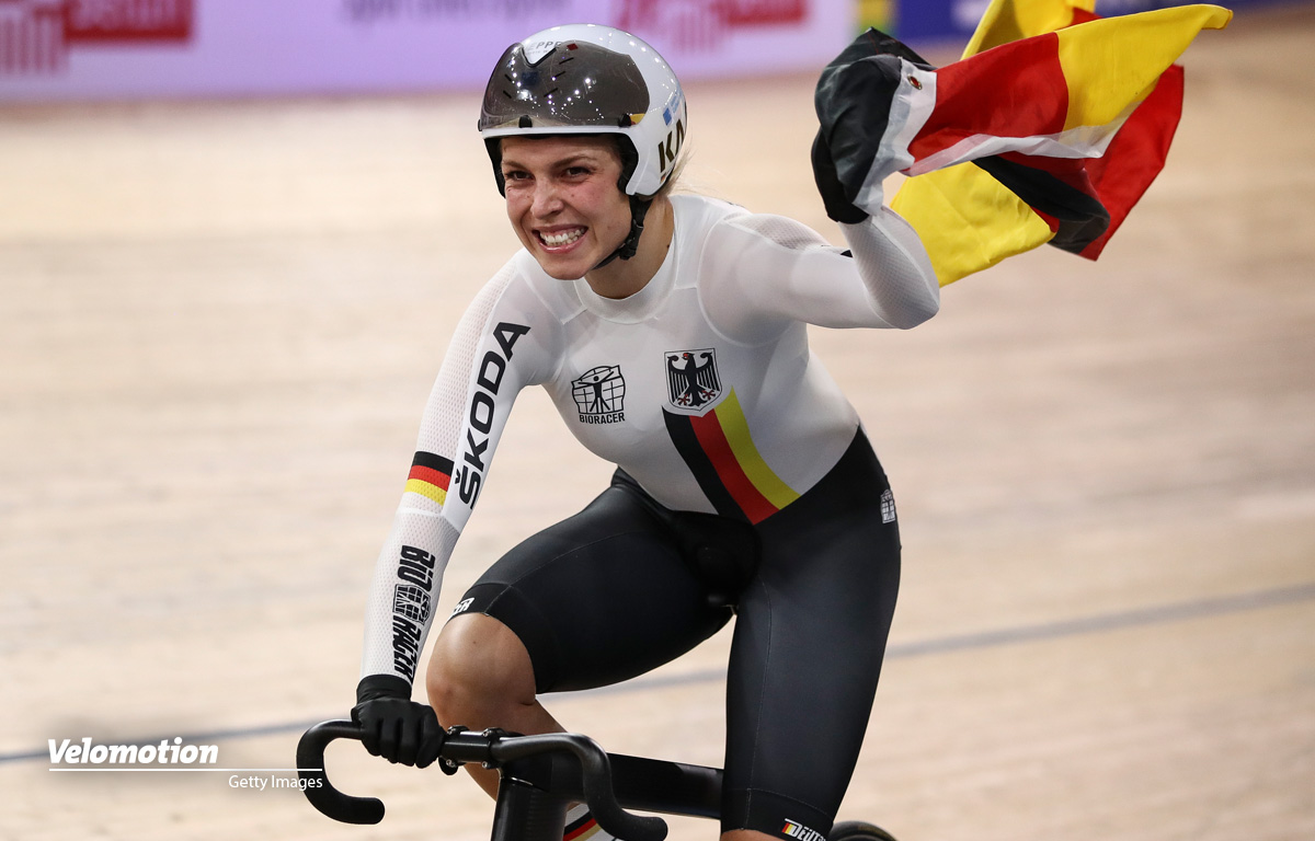 Bahn-WM Teamsprint Roubaix